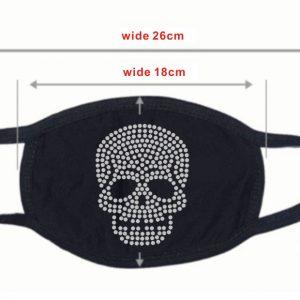 Rhinestone Skullhead