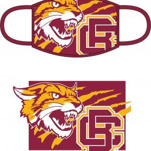 Bethune Cookman University Face Mask – Maroon
