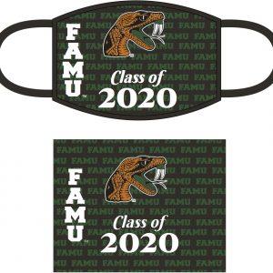 Florida A&M University Class of 2020 Face Mask – Green