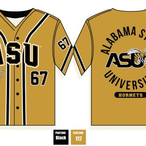 Alabama State University Baseball Jersey