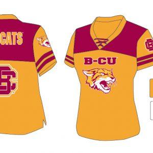 Bethune Cookman University Women's Football Jersey