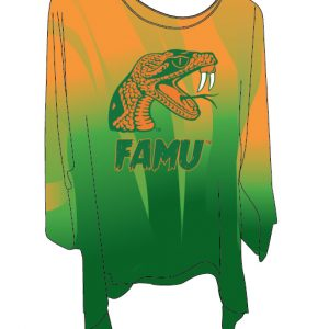 Florida A&M University Faded Blouse