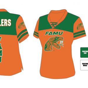 Florida A&M University Women's Football Jersey