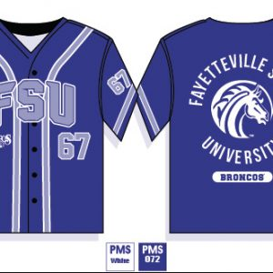 Fayetteville State University Baseball Jersey