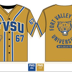 Fort Valley State University Baseball Jersey