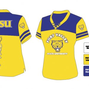 Fort Valley State University Women's Football Jersey