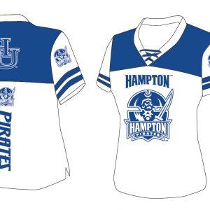 Hampton University Women's Football Jersey