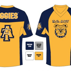 North Carolina A&T State University Men's Football Jersey
