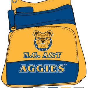 North Carolina A&T University Crossbody Purse