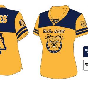 North Carolina A&T State University Women's Football Jersey