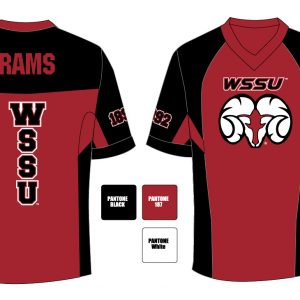 Winston Salem State University Men's Football Jersey
