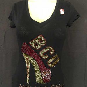 Bethune Cookman University Rhinestones T-Shirt