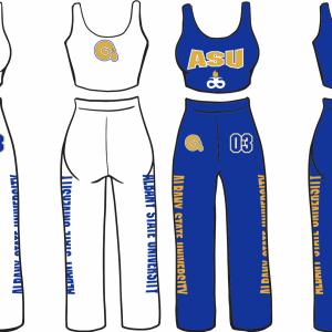 Albany State Pants Set